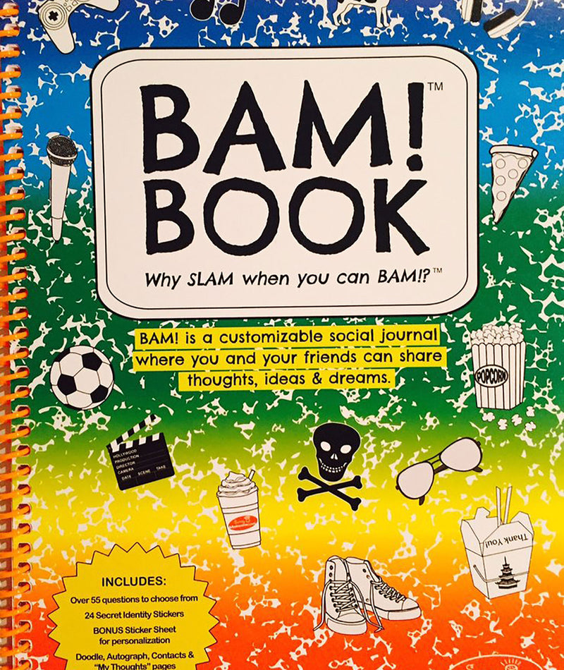 Bam! Multi Color Book