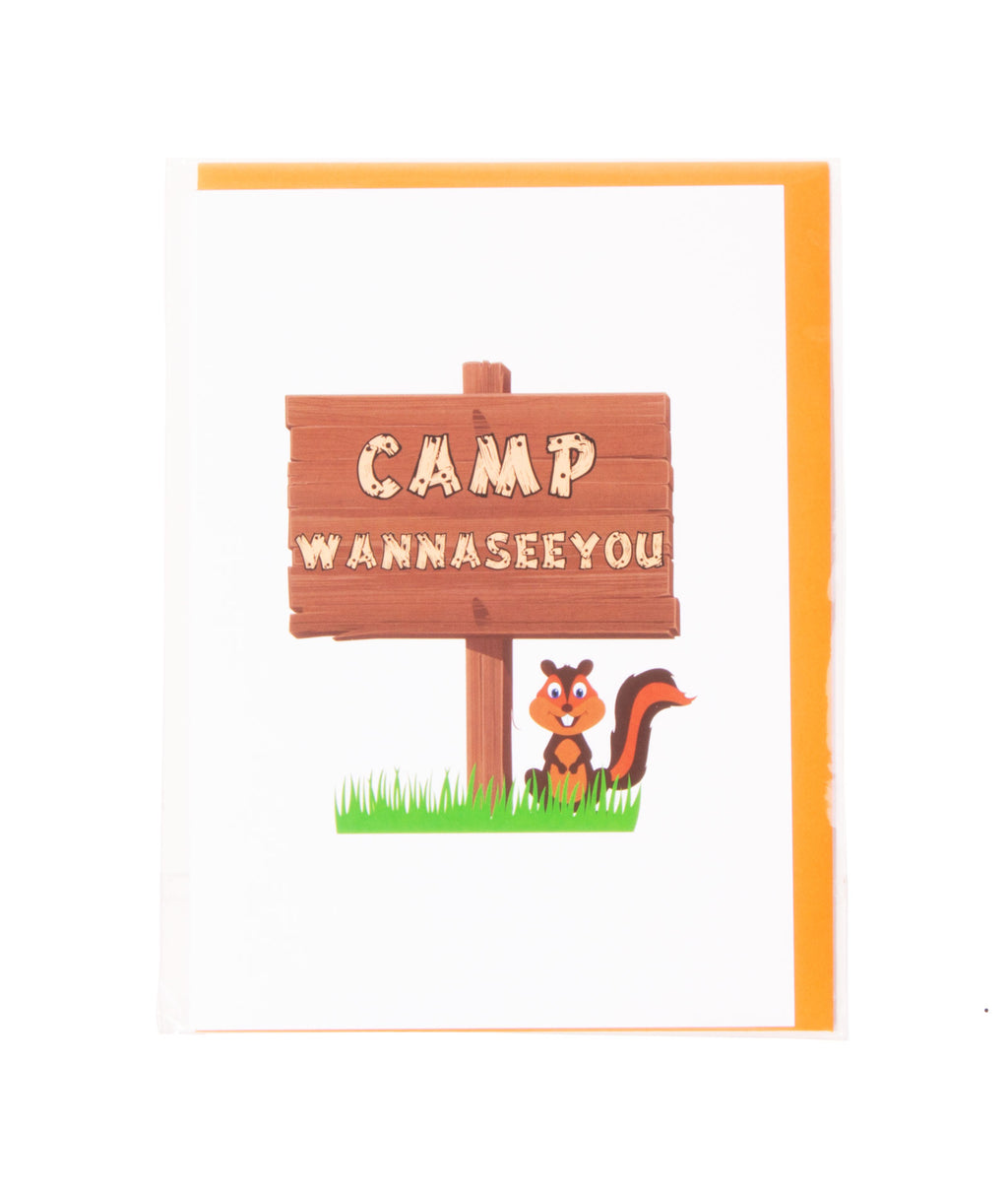Camp Wanna See You Card