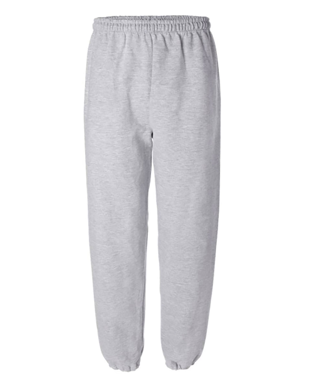 Gildan Adult Sweatpants in White, Grey or Light Grey