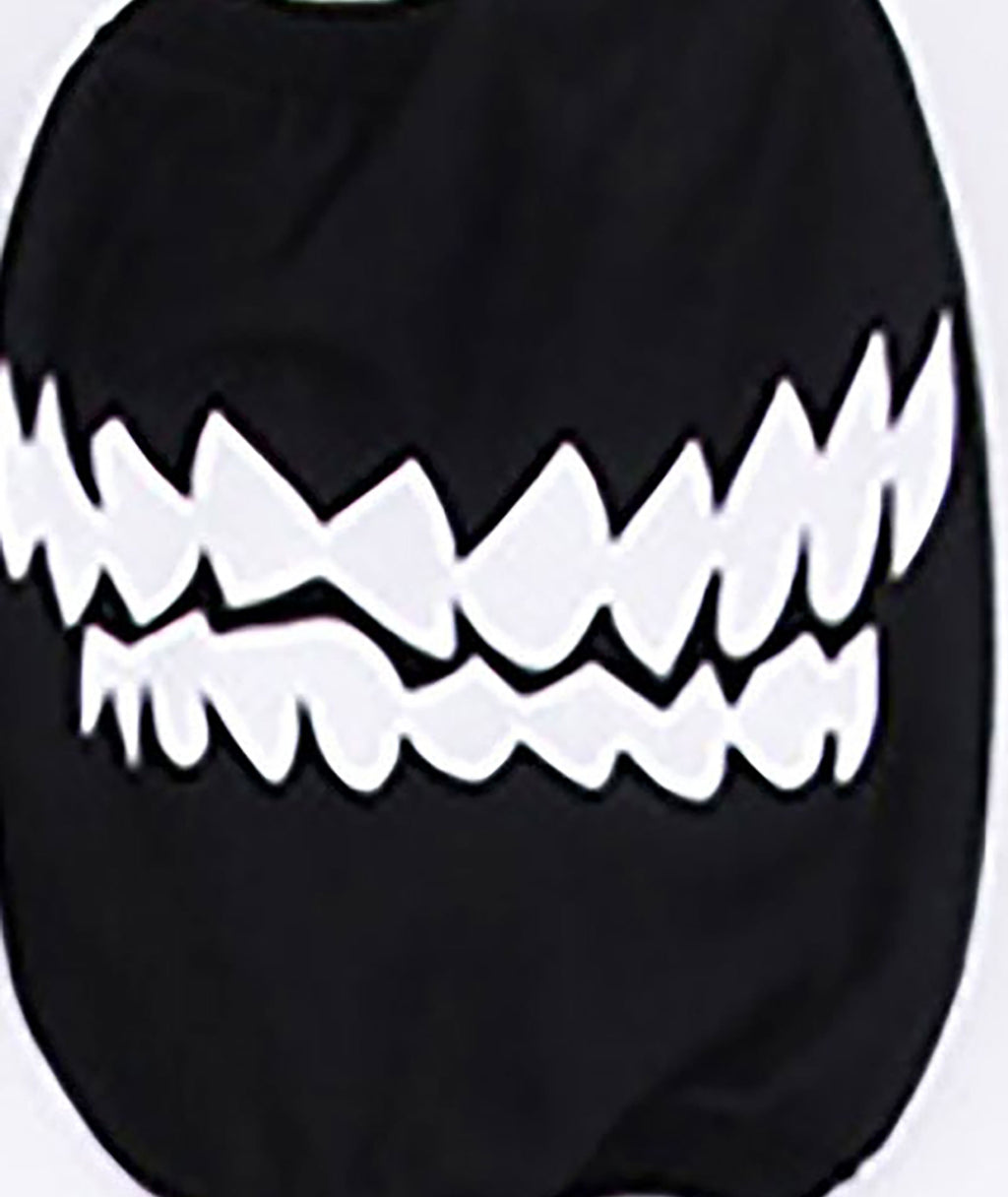 Confetti and Friends Two Lines Biting Teeth Monster Mask Adult