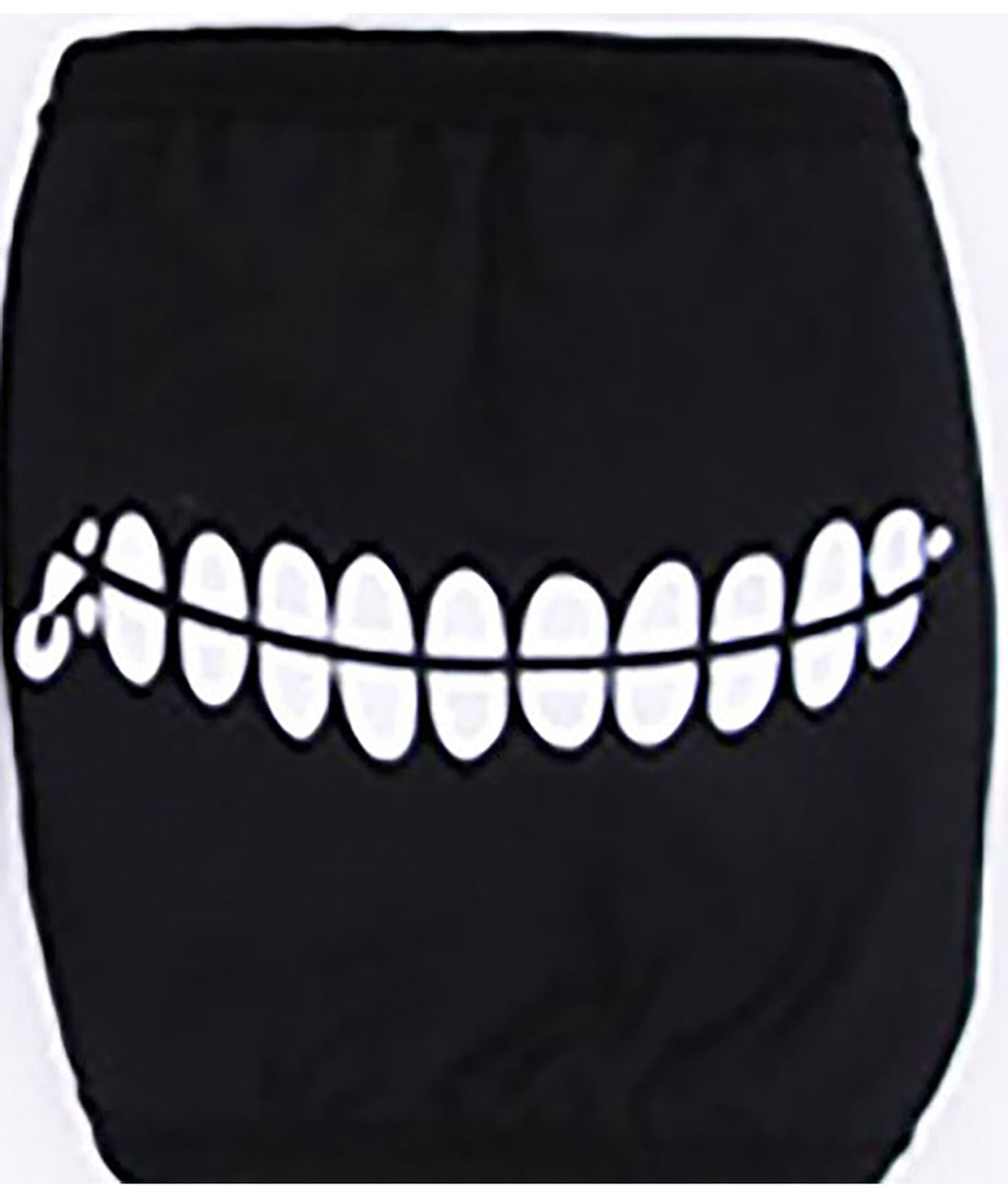 Confetti and Friends Line Teeth Monster Mask Adult