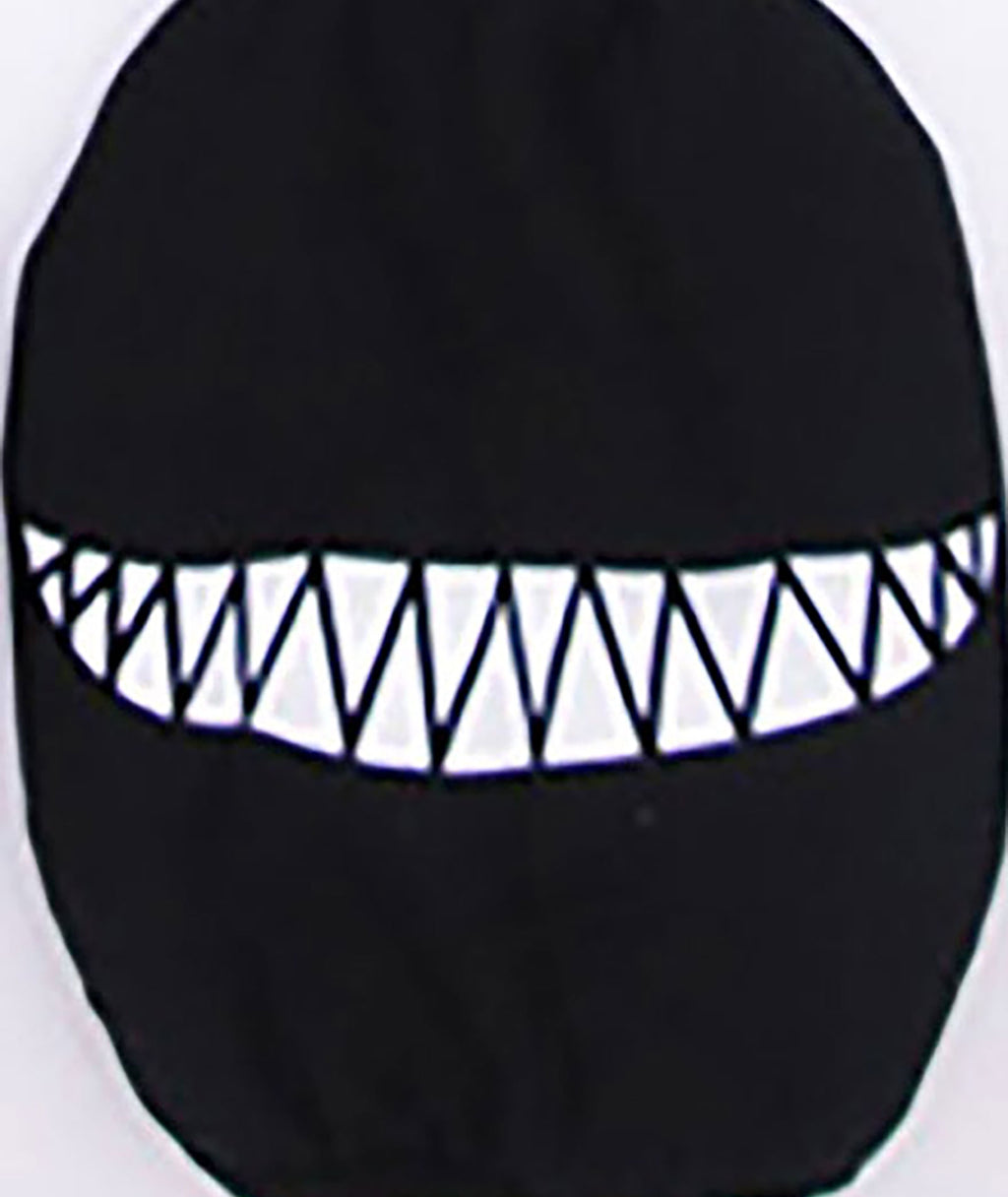 Confetti and Friends Sharp Smile Monster Mask Adult