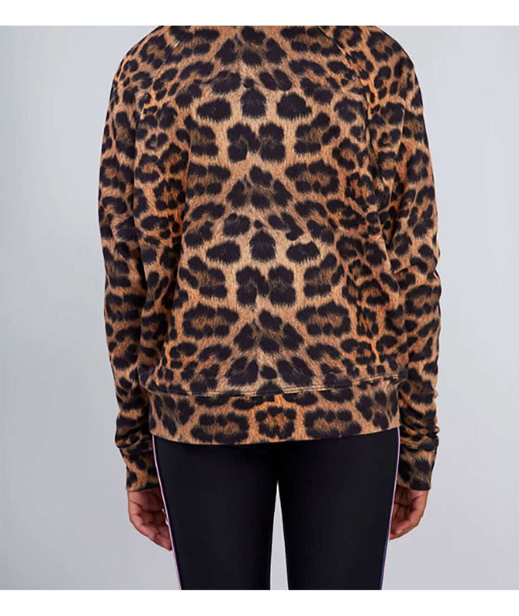 Terez Girls Leopard Goals Sweatshirt