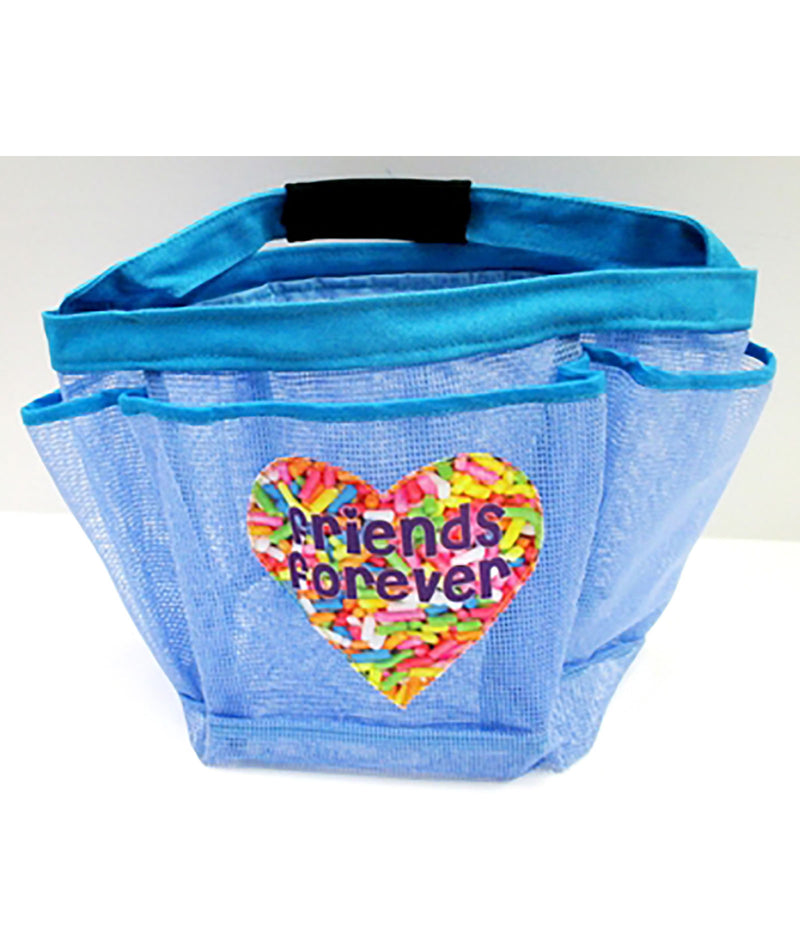 Confetti and Friends Sprinkles Friends Forever Shower Caddy