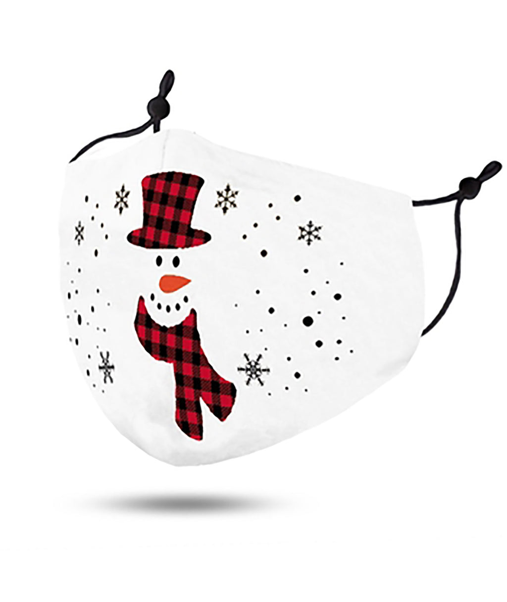 Confetti & Friends White Snowman Mask