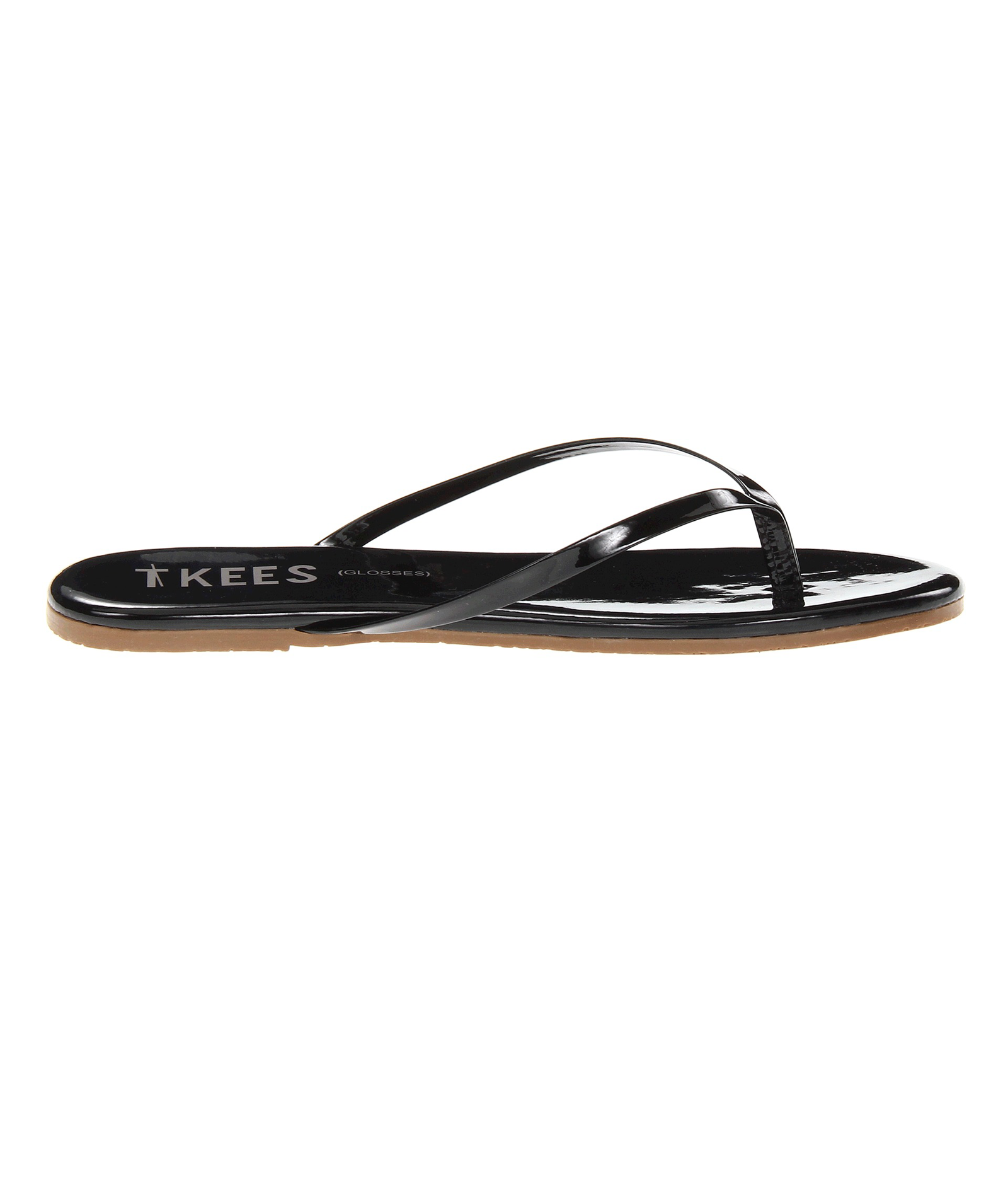 Tkees Flip Flop Glosses Licorice, Side