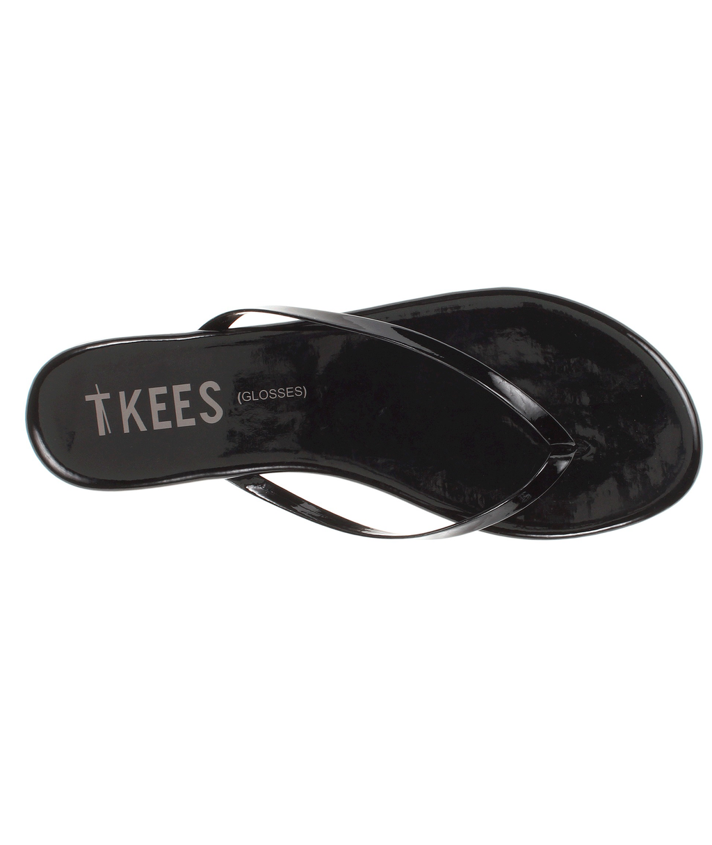 Tkees Women Flip-Flop Glosses Licorice | Frankie's on the Park