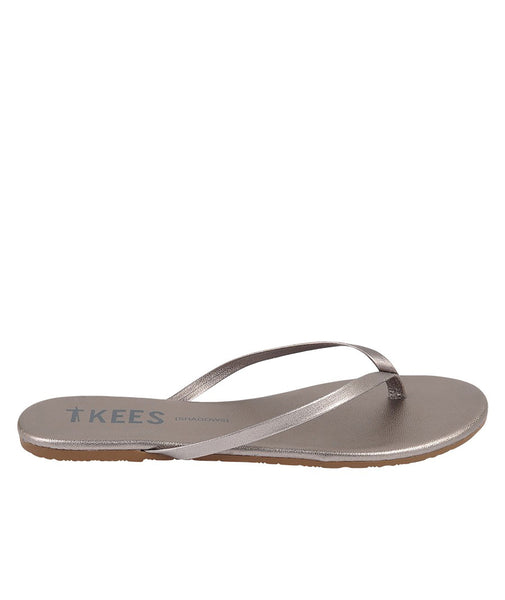 Tkees Womens Frosty Grey Shadows Flip-Flop