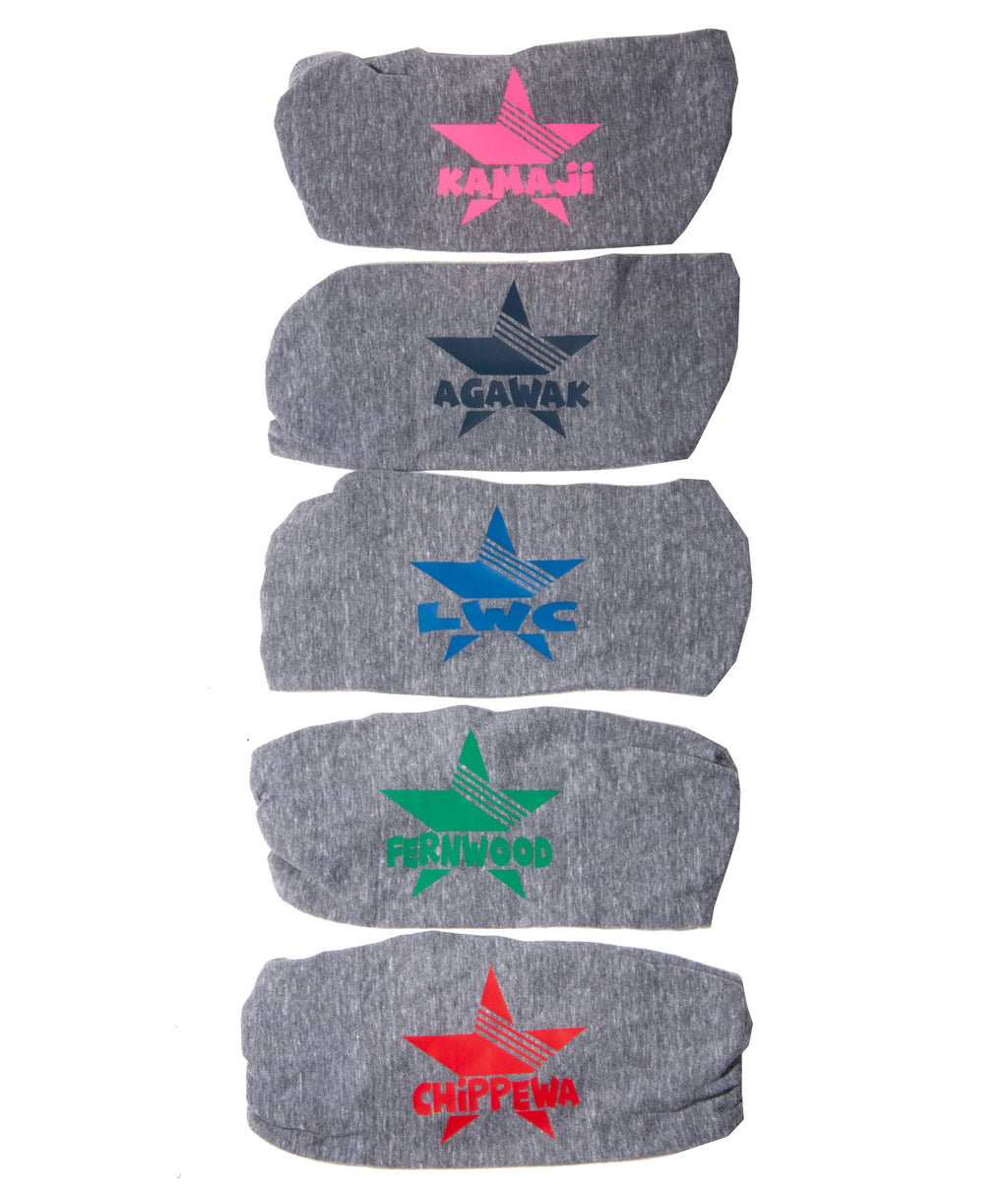 Custom Camp Headbands