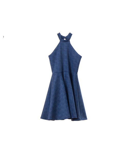 Un Deux Trois Girls Denim Dress