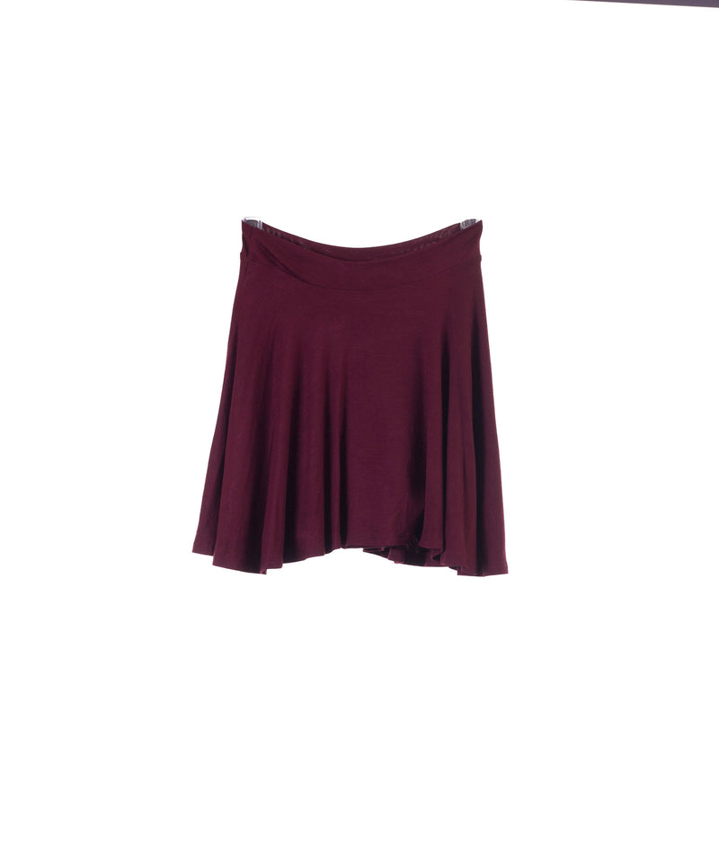 Un Deux Trois Girls Burgundy Skater Skirt - Frankie's on the Park
