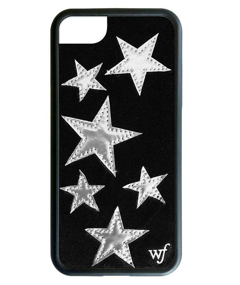 Wildflower Phone Case Black Velvet