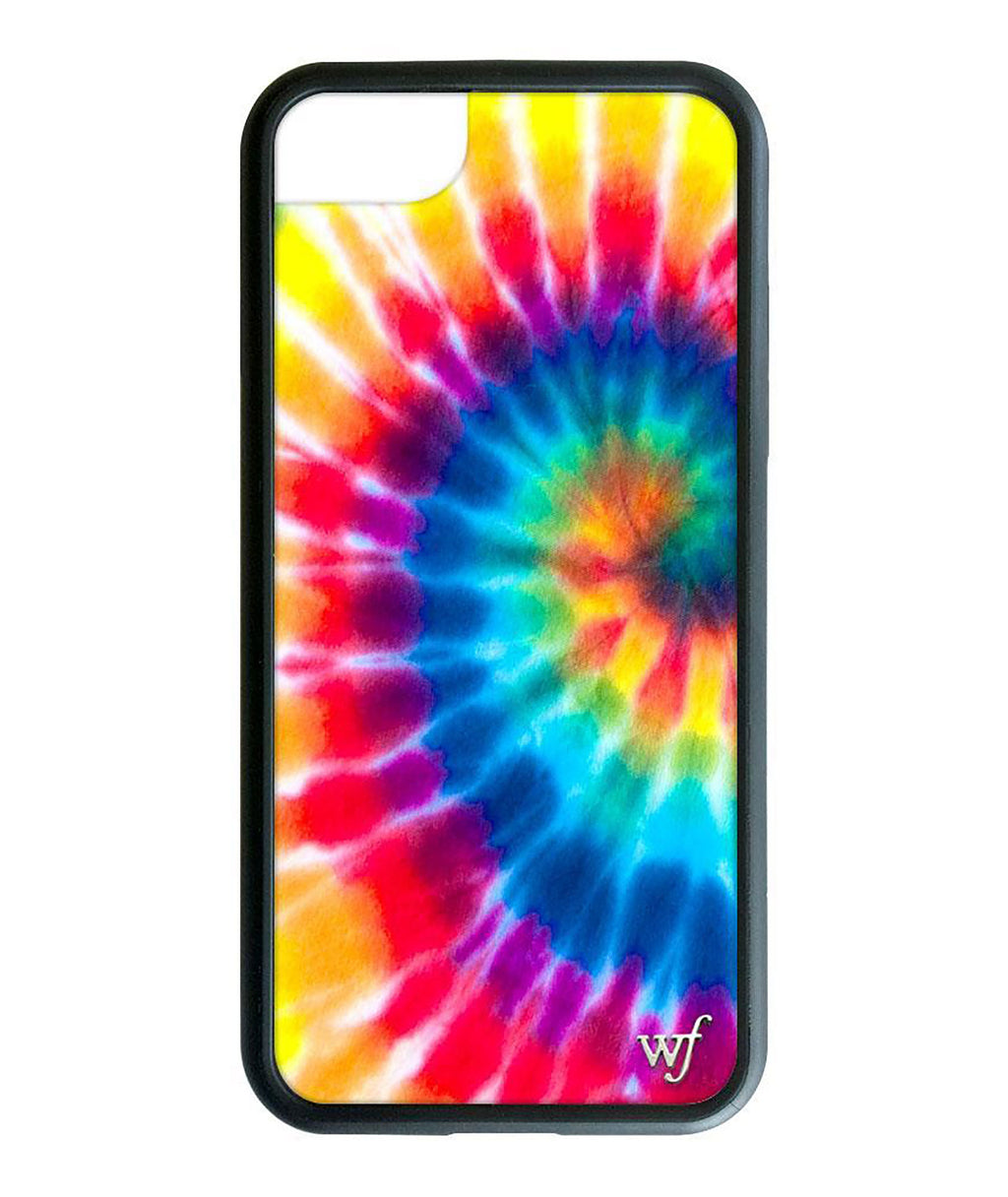 Wildflower Phone Case Festival Tie Dye