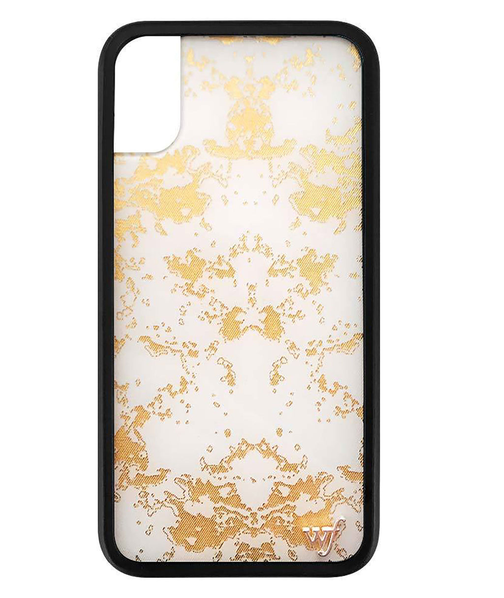 Wildflower Phone Case Gold Dust
