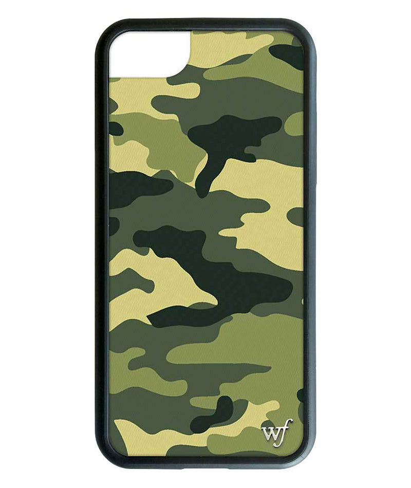 Wildflower Phone Case Green Camo