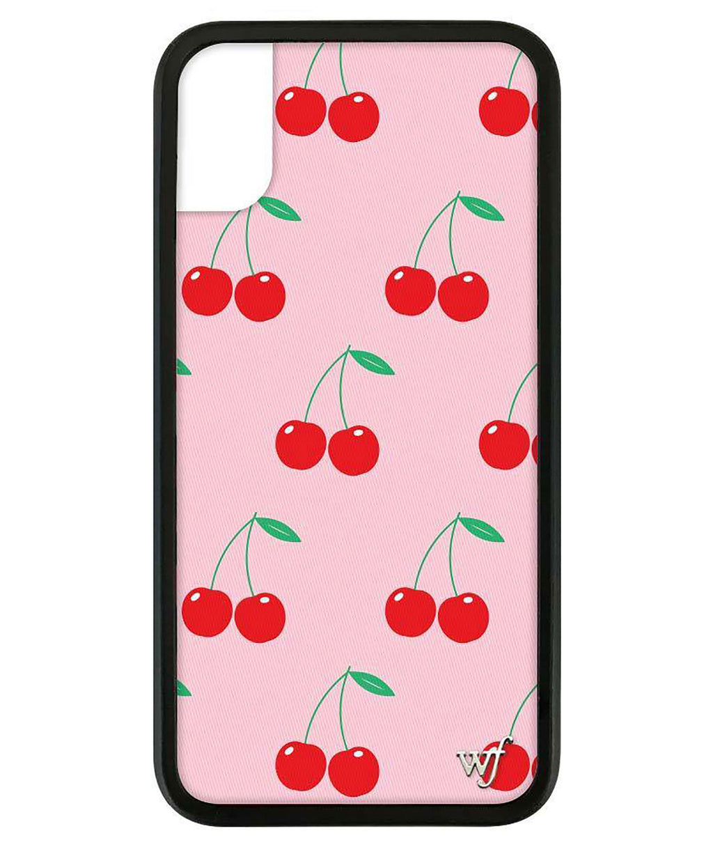 Wildflower Phone Case Pink Cherries