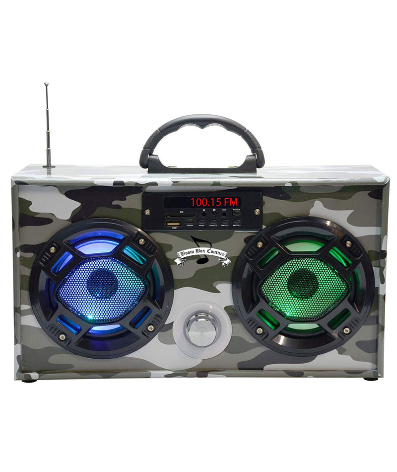 Wireless Express Boombox Green Camo