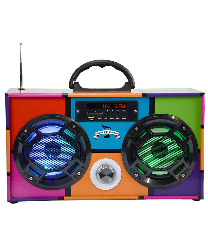 Wireless Express Boombox Retro