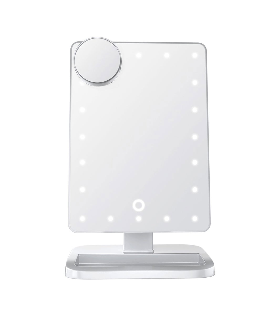 Wireless Express LED Bluetooth Mirror Silver