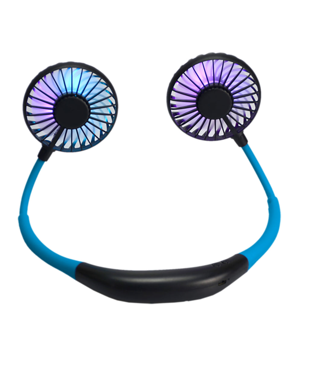 Wireless Express Blue Neck Fan