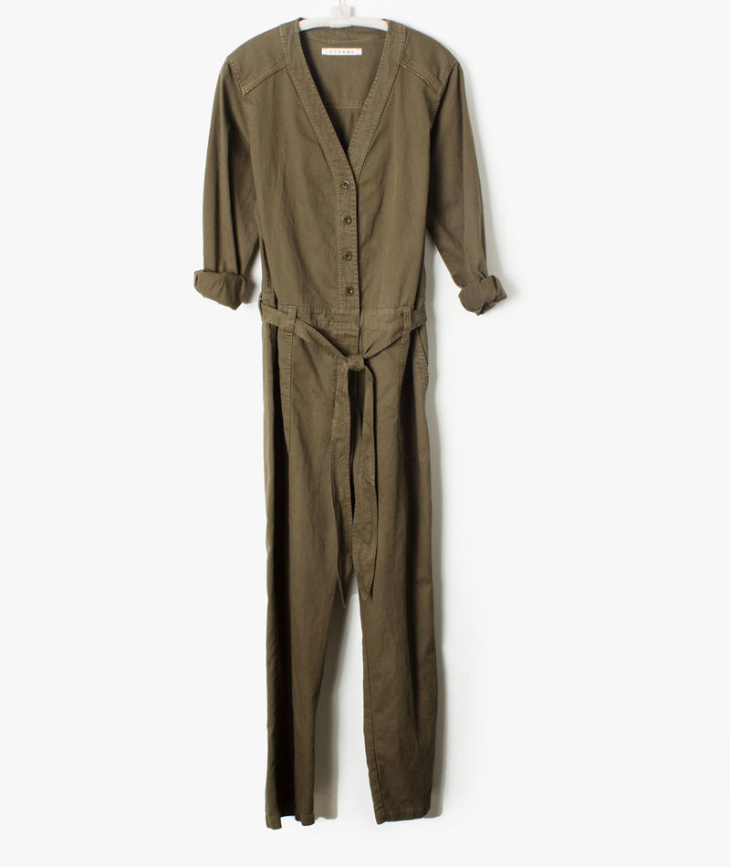 Earth Wylder Twill Jumpsuit Women