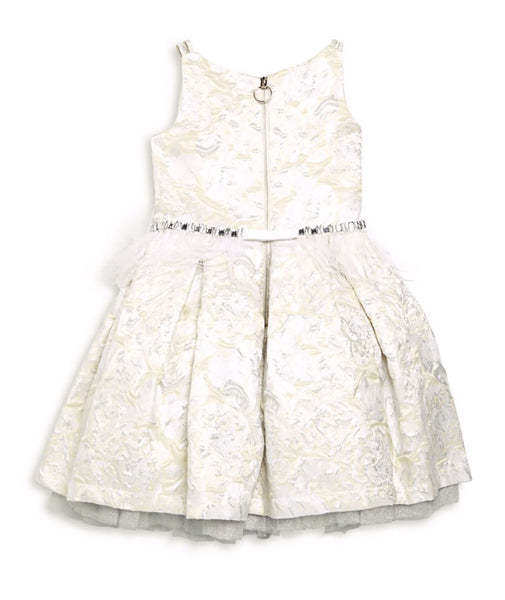 Zoe Ltd. Girls Ella Feather Dress
