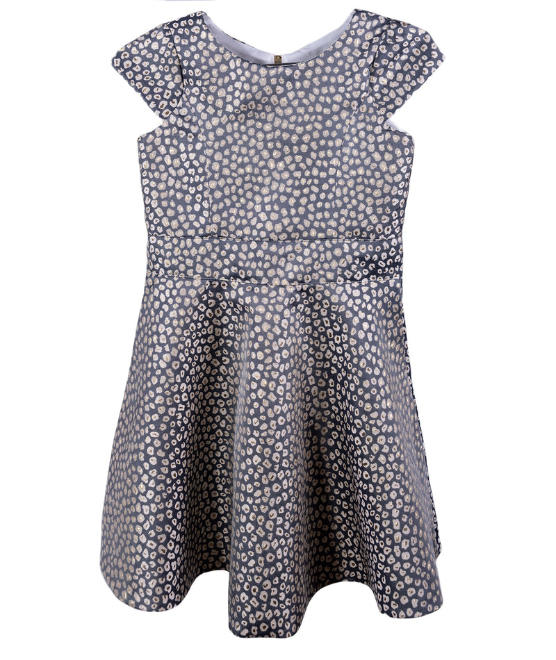 Zoe Ltd. Girls Star Struck Annie Border-Hem Dress