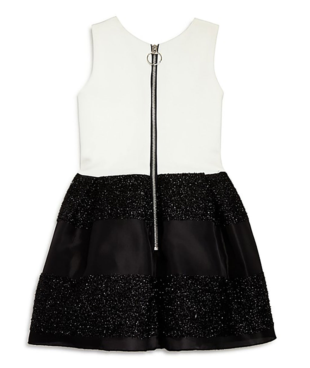 Zoe Ltd. Girls Black & White Dress - Frankie's on the Park