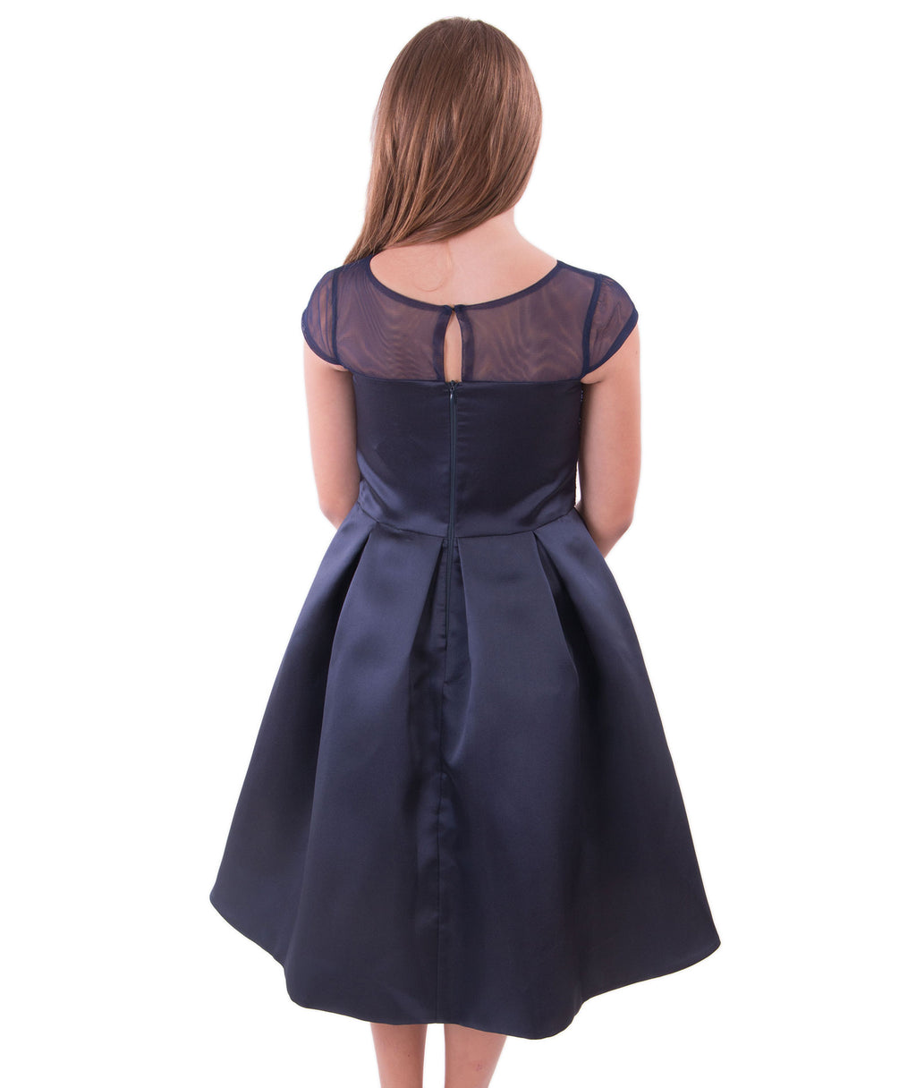 Zoe Ltd. Girls Navy Sequin Dress - Frankie's on the Park