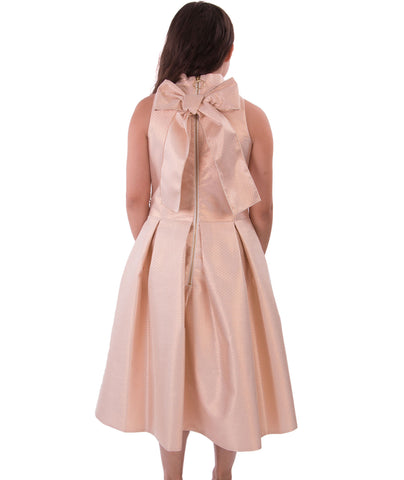 Zoe Ltd. Girls Rose Gold Dress