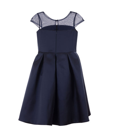 Zoe Ltd. Girls Navy Sequin Dress