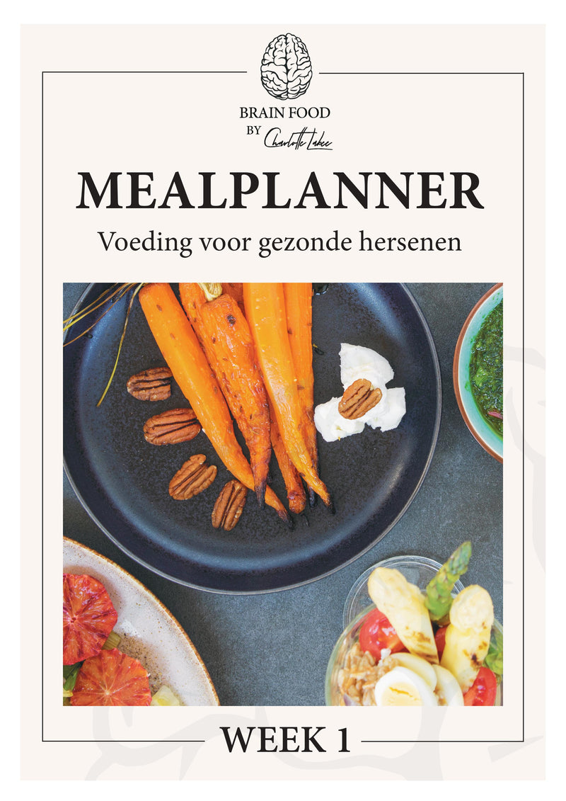 Maandabonnement Brain Food Mealplanner