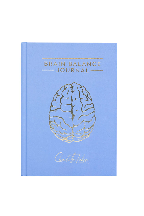 Brain Balance Journal - Ijsblauw (Winter)