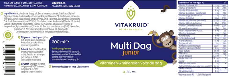 Multi Dag Junior