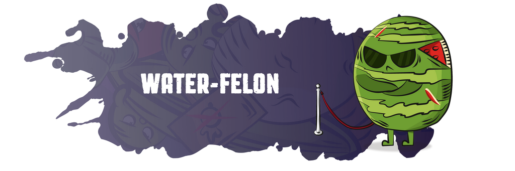 Water-felon security card Plant-Based Riot