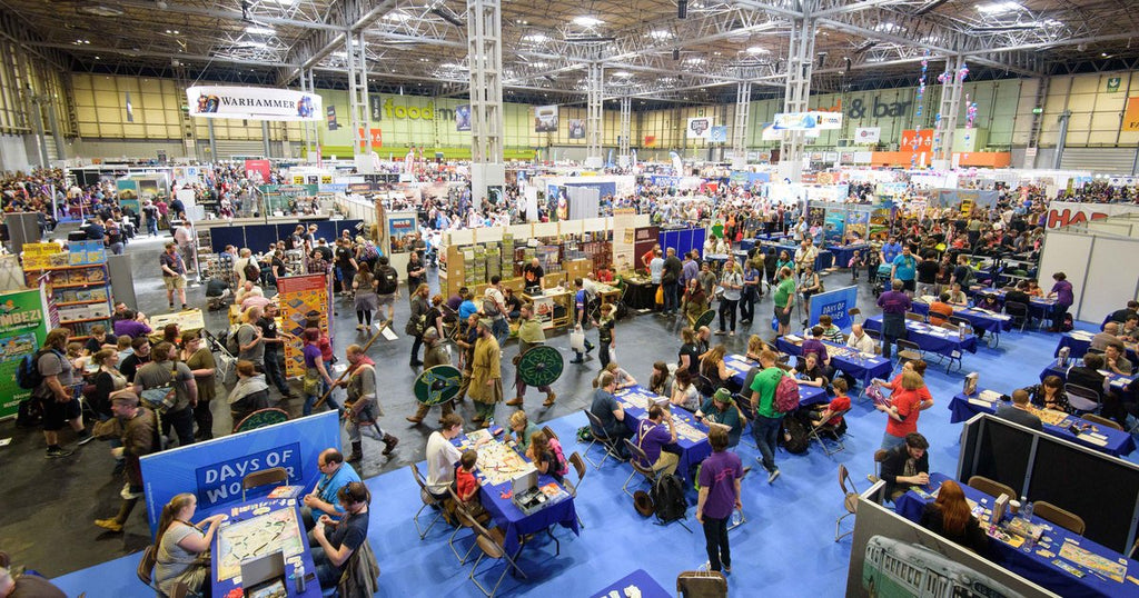 crowd of people at the UK Games Expo