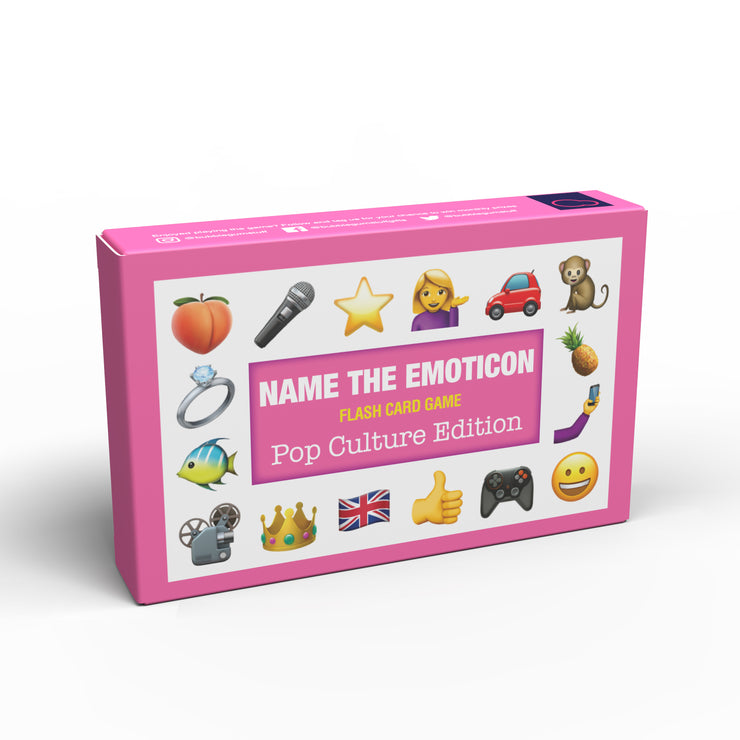 Name the Emoticon Card Game - Pop Culture Edition