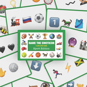Name the Emoticon Card Game - Sports Edition