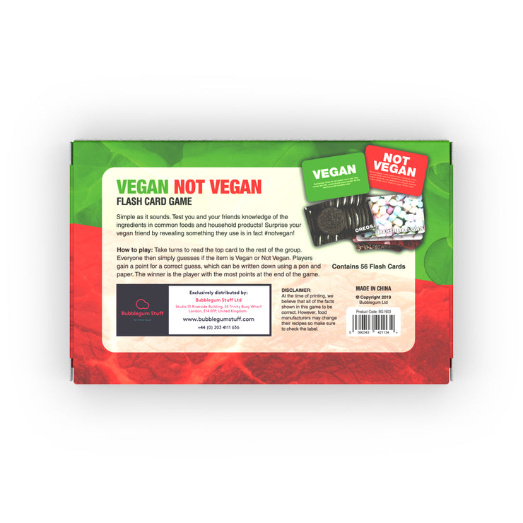 Vegan Not Vegan