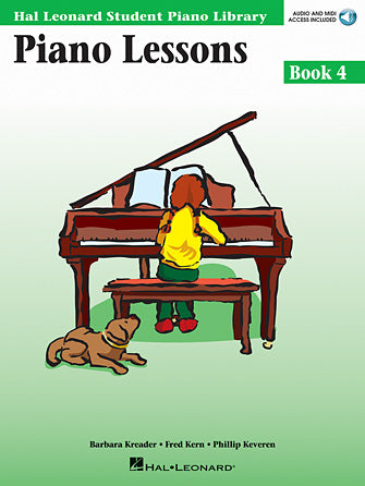 Hal Leonard All-in-one Piano Lessons - Book 4