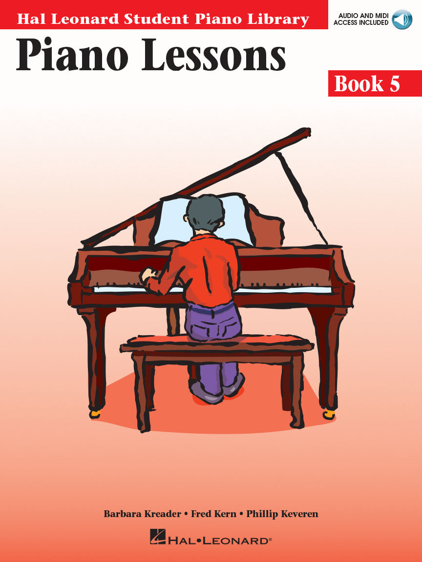 Hal Leonard All-in-one Piano Lessons - Book 5