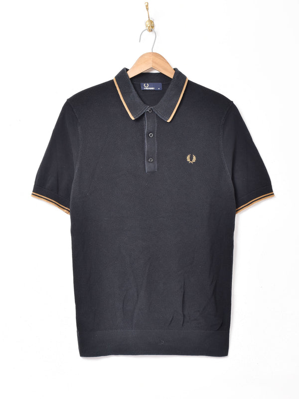 FRED PERRY ニットポロシャツ