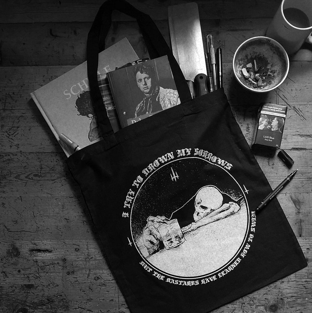 'I TRIED TO DROWN MY SORROWS' BAG FOR LIFE