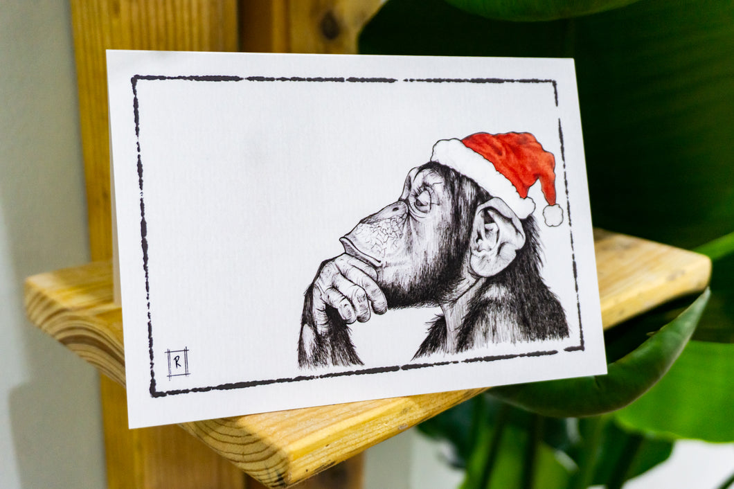 MERRY CHRISTMAS ANIMAL CARDS