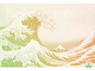 THE WAVE - LIMITED EDITION THE ART ETERNAL EXCLUSIVE - PASTEL - A2 SCREEN PRINT PRE ORDER