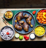 Load image into Gallery viewer, Myristica Jerk Chicken Standard Meal Kit