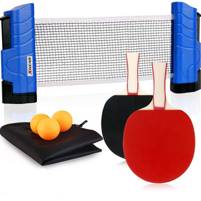 Portable Ping Pong Set Lake Blue