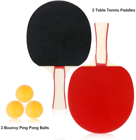 Equipment to-Go Ping Pong Set Lake Blue