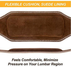 Genuine Leather Weight Lifting Belt (7MM)