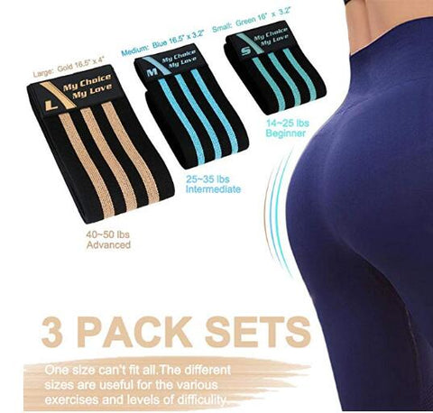 Anti Slip Booty Bands